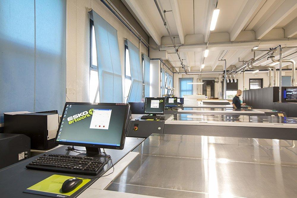 impianti stampa flexo controllo ESKO Nu-Maber